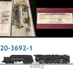 Mth premier NY CENTRAL 4-8-2 L-3c Mohawk Steam Engine # 20-3692-1