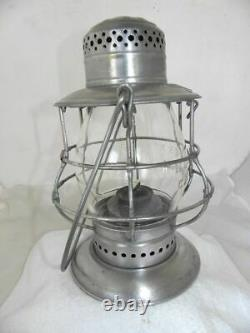NEW YORK CENTRAL RAILROAD LANTERN Clear Cast EB Lantern Globe