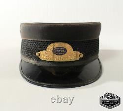 NYC New York City New York Central System Conductor Hat Size Large