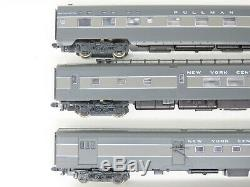 N Scale Kato 106-013 NYC New York Central Passenger 6-Car Set with Custom Lighting