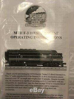 New MTH 20-2199-1 Premier Southern Pacific Daylight F-3 ABA Diesel Set Proto-S