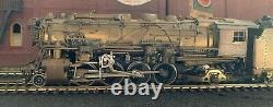 New York Central 2-8-2 H104 Mikado Brass HO by L M Blum