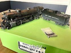OMI O scale Brass 2R New York Central NYC USRA Light Mikado 2-8-2 C/P OB