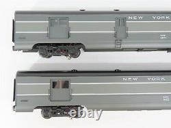 O Gauge 3-Rail K-Line Aluminum K4670D New York Central Passenger 2-Car Set