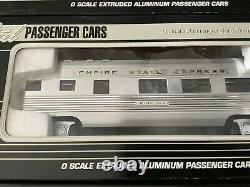 O Gauge K-Line K4670A NYC New York Central Empire State Passenger 4-Car Set