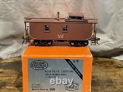 PSC O Scale Brass 2R NYC New York Central 18000-Series Wood Caboose F/P