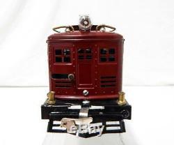 Prewar Lionel Standard Gauge #8 Electric Engine NYC Maroon / Brass 1925-26 repnt