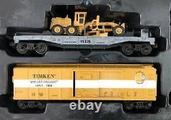 Rail King MTH O Gauge New York Central 2-6-0 Steam Locomotive Train Set