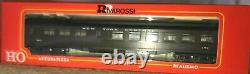 Rivarossi HO 1920s New York Central Heavyweight 4 Cars all with Interiors. Mint