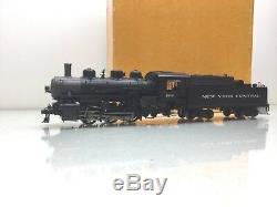 SUNSET Brass 2 Rail USRA 0-6-0 Switcher New York Central #199 with Tender