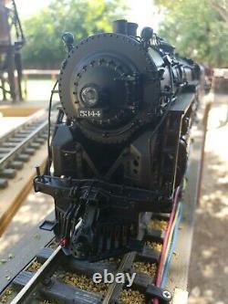 USA TRAINS DIECAST NEW YORK CENTRAL J1e 4-6-4 HUDSON #5344 with SOUND & WOOD CASE