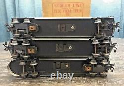 Vintage MARX Stream Line Electric Train Set with Box #35149 New York Central