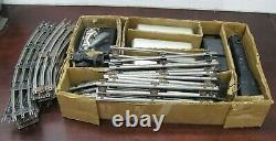 Vintage Marx Train Set New York Central Tin Litho Silver Cars in Box 1950s