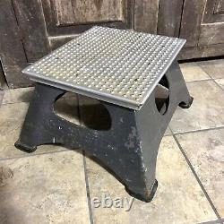 Vintage New York Central System NYC Railroad Conductors StepStool