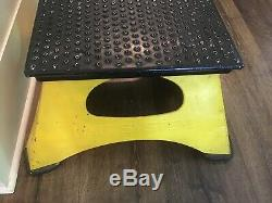 Vintage Railroad Train Conductor Platform Step Nyc System New York Central