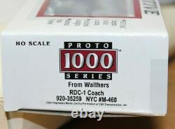 WALTHERS RDC-1 COACH NYC #M-460 Standard DC HO Proto 1000 #920-35259