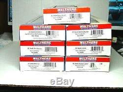 Waqlthers Ho Scale 85' Budd Passenger 7 Car Set New York Central 932-6488