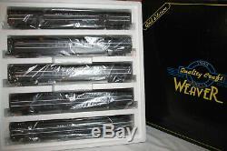 Weaver New York Central, NYC 5 Car Aluminum Passenger 20 Set Gold Ed Lighted