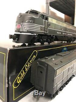 Weaver New York Central (Two-Tone Grey) EMD E-8 AA Diesel Set Mth Lionel Atlas