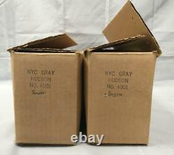 Williams 4001 NYC Dreyfuss Hudson & tENDER L/N All Original Boxes