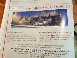 Williams New York Central J-3a Hudson 4-6-4 Brass LNIB