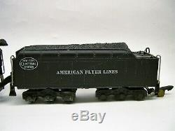 322 American Flyer New York Central Hudson Locomotive Et Tender Lot C12-l75