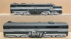 3ème Rail Nyc / New York Central Alco Pa Diesel Engine Set O-gauge Withsnd 2-rail Nib