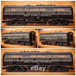 6-34511 Lionel Legacy De New York Central Situé Aba F-7 O Gauge Échelle 3 Rail Nyc Tmcc