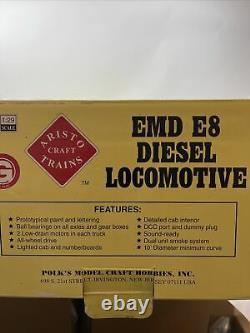 Aristocraft Emd E-8 Nyc Art 23611 Locomotive Diesel Centrale De New York Testée