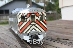 Aristocraft Rdc Nyc New York Central Locomotive Diesel De Voitures De Tourisme Disque. Rare