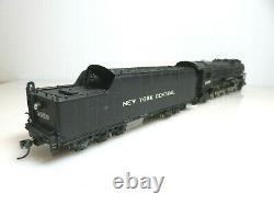 Brass Tenshodo Ho Échelle Nyc New York Central Rr 4-8-2 Locomotive Mohawk #3058