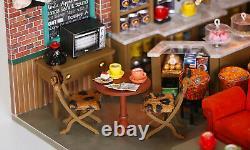 Bricolage Miniature Dollhouse Kit New York Central Perk Friends Set Livraison Gratuite