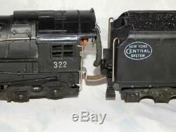 Coffret 1948 American Flyer 322 New York Central Hudson 4-6-4 Vapeur Loco Withwrapper