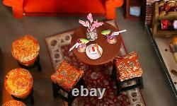 Diy Miniature Dollhouse Kit New York Central Perk Friends Set Livraison Gratuite