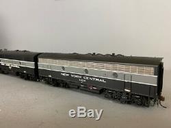 Echelle Ho Athearn Genesis, Nyc F3a / B Diesel Loco Set # 1633 & 2438 DC (f0028)