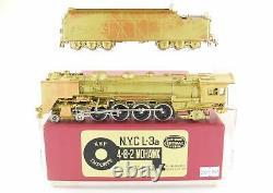 Ho Brass Key Imports Nyc New York Central L-3a 4-8-2 Mohawk 1977 Run