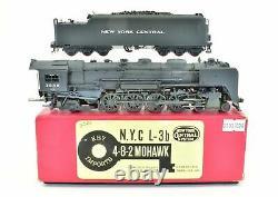 Ho Brass Key Imports Nyc New York Central L-3b 4-8-2 Mohawk 1983 Peint Sur Mesure