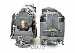 Ho Brass Key Imports Nyc New York Central L-4a 4-8-2 Mohawk 1983 Peint Sur Mesure