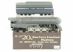 Ho Brass Key Nyc New York Central J-3a 4-6-4 Rationalisé Hudson 20th Century Ltd