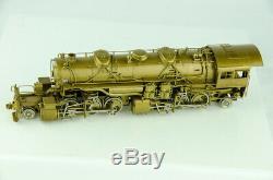 Ho Brass Modèle Nj Cb St-237 Nyc New York Central 2-6-6-2 Classe Ne-2 Locomotive