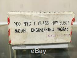 Ho Brass New York Central Nyc # 700 T-1 (classe T) Locomotive Électrique Lourd Mew
