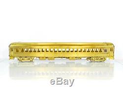 Ho Brass Precision Échelle Psc New York Central 70 Coach Poids Lourd Avec Air Nyc