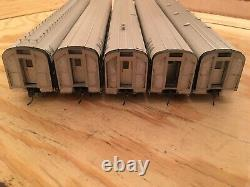 Ho Mth New York Central (empire State Express) 5 Voitures Passenger Set Nyc