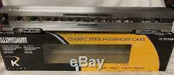 K-ligne Aluminium De New York Empire State Express Central Parlor 21 Passagers De Voitures