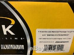 K-line Aluminium New York Central Bagages Tavern Lounge 21 Passagers De Voitures! Nyc