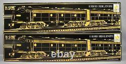 K-line K28701s Aa New York Central E8 Diesel Locomotive Set O Jauge Withshipper