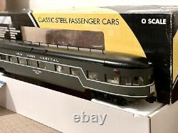 K-line K4670 O Nyc New York Central 21 Aluminium Observation Passenger Car Nib