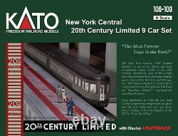 Kato 106-100 N New York Central 20th Century Limited Voitures Particulières