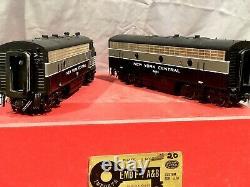 Key Model Imports O Scale 2r Brass Nyc New York Central F7 Diesels A&b F/p