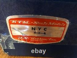 Ktm Brass O Échelle 2 Rail 4-8-4 New York Central Niagara Nyc Custom Painted Mint